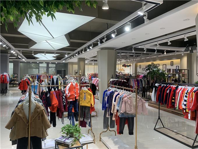 广东棵棵树儿童棉袄品牌折扣童装进货渠道